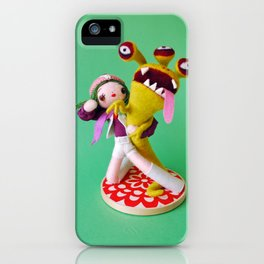 Kapaw! (Super Sentai Momo-Ranger) iPhone Case