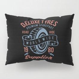 deluxe tyres premium sparepart Pillow Sham