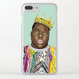 Biggie, notorious BIG Clear iPhone Case
