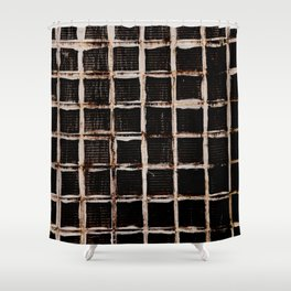 Futures Prison Shower Curtain