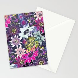 Passion Flower Bright Stationery Cards