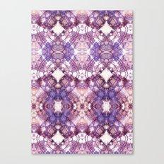 Purple Circle Canvas Print