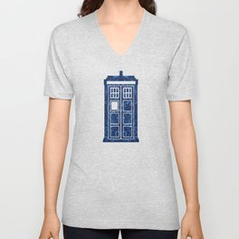 Filigree TARDIS Unisex V-Neck