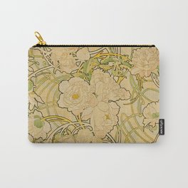 Alphonse Mucha - Peonies Carry-All Pouch