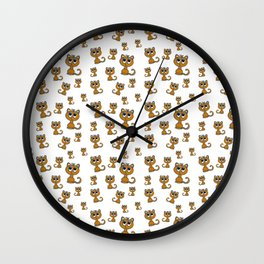 Cute Kitty Wall Clock