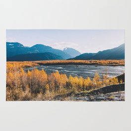 Alaskan Autumn - Kenai Fjords National Park Rug