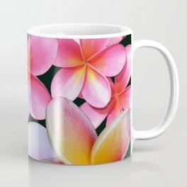 Pink Plumerias Coffee Mug