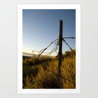 Desert Dawn II Art Print