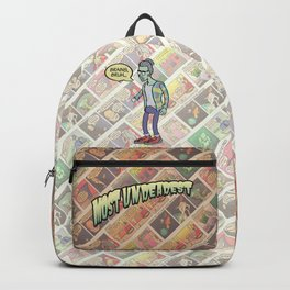 Zombie Hipster Backpack