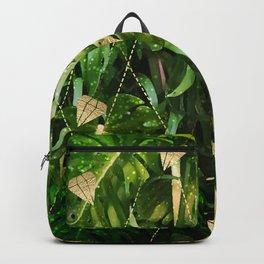 Leaf & gold Backpack