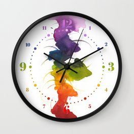 Little Chakra Tree Wall Clock