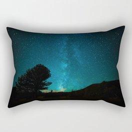 Milky Way Starry Night Photography Rectangular Pillow