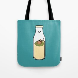 Almond Milk and Chill Tote Bag