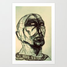 First people 1 Art Print