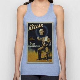 Kellar Self Decapitation Unisex Tank Top