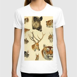The Great and Small Game of Europe, Western and Northern Asia and America T-shirt