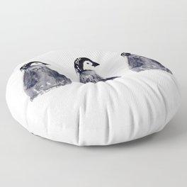 baby pinguin - bebe manchot - nord - north - banquise - arctique - pingouin Floor Pillow