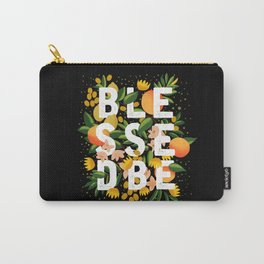 BLESSED BE BLACK Carry-All Pouch