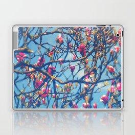 Spectacular Pink Grace: Oriental Magnolia Laptop & iPad Skin