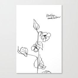 Abutilon abutiloides Canvas Print