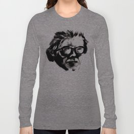 Hipster Beethoven Long Sleeve T-shirt