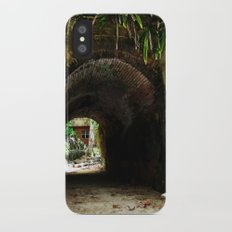 Old tunnel 2 Slim Case iPhone X