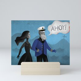 Ahoy! Mini Art Print