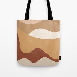 MOUNTAIN DREAMS - beautiful abstract art Tote Bag