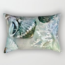 Silver Bells Rectangular Pillow
