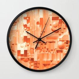 Lunurban (Rose) Wall Clock