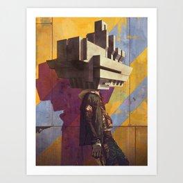 Archihead Art Print