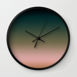 Mourning Wall Clock