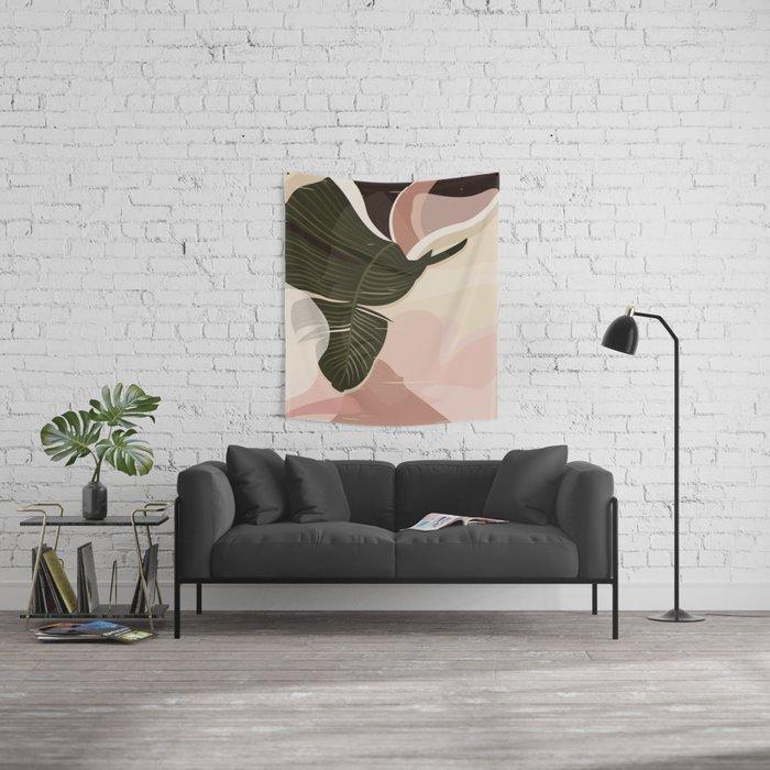 Nomade I. Illustration Wall Tapestry