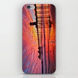 Sunset Huntington Beach Pier CA   iPhone Skin