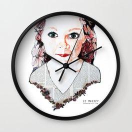 Poppy June Wall Clock