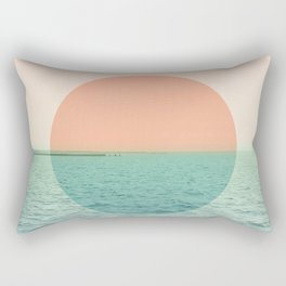 Because the ocean Rectangular Pillow