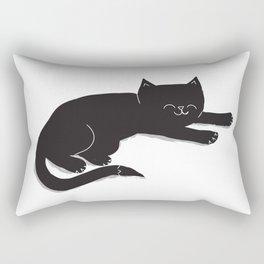 Happy Kitty Rectangular Pillow