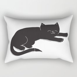 Happy Kitty Rectangular Pillow