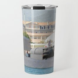 USS JAMES K. POLK (SSBN-645) Travel Mug