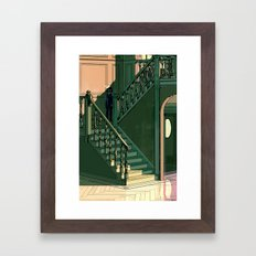 Welcome to Dead House Framed Art Print