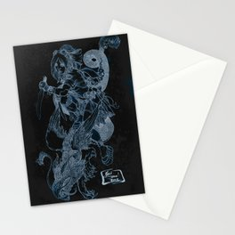 'The Slayer' by Kevin C. Steele Stationery Cards