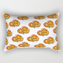 foxes in love Rectangular Pillow