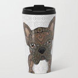 Brindle Frenchie 001 Travel Mug