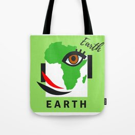 """"""" Carry On, E A R T H """" Tote Bag"""