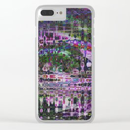 Pink Cadillac Clear iPhone Case