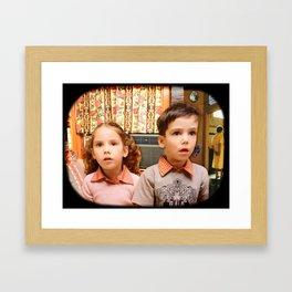Boob Tube Framed Art Print