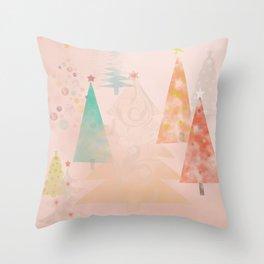 Magical Trees Throw Pillow