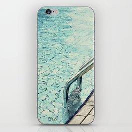 Summertime swimming iPhone Skin