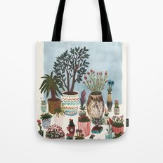 Potted Flowers I Tote Bag