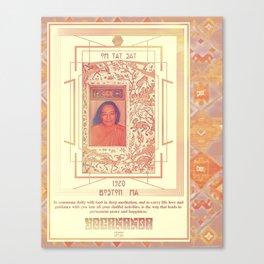 Yogananda; Om Tat Sat Canvas Print